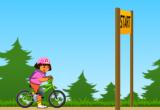 العاب سباق الدراجات مع دورا 2017