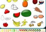 العاب تلوين الفواكه والخضار