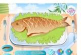 العاب طبخ السمك المشوى على الفحم