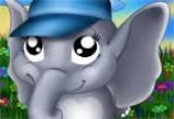 لعبة تلبيس صديقة الفيل