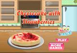لعبة طبخ الكيك بالفراولة 2017