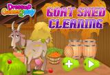 لعبة تنظيف الماعز في الحديقة
