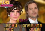 لعبة مكياج انجلينا وزوجها حقيقية 2017