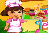 لعبة دورا تعمل في مطعم 2017