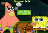 لعبة سبونج بوب وبسيط يجمعان الذهب