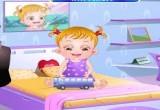 لعبة الطفلة العسلية بيبي هازل وقت النوم
