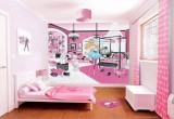 العاب ديكور تصميم غرفة البنات الجديدة