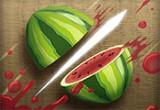 لعبة تقطيع البطيخ اللذيذ