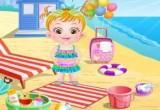 لعبة بيبي هازل على الشاطئ 2017