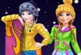 العاب تلبيس ملابس الشتاء 2017