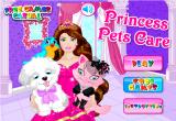 لعبة الأميرة رعاية الحيوانات الأليفة