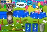 لعبة تنظيف بيت القط توم فى عيد الميلاد 2017
