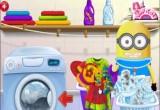 لعبة غسيل ملابس بغساله اوتوماتك  2017