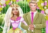 لعبة باربي وكين ليلة الزفاف 2017