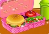 العاب طبخ وجبة مدرسية صحية 2017