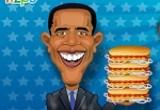 لعبة طبخ هوت دوج اوباما